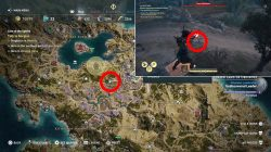 where to find apprentice amulet location ac odyssey lore of the sphinx