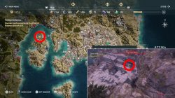 where to find brison ac odyssey cult of kosmos delian league
