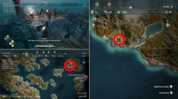 where to find lesbos gates of atlantis artifact location ac odyssey