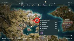 where to find lokris fort cultist clue ac odyssey