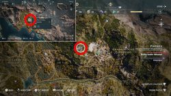 where to find tomb of the first pythia in assassins creed odyssey