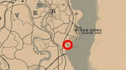 where to find van horn mansion location red dead redemption 2
