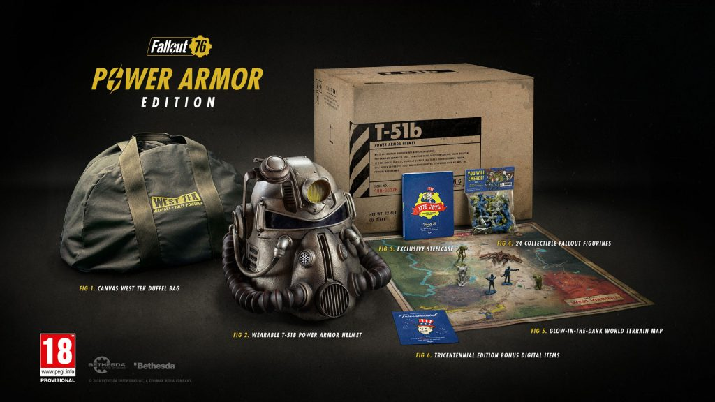 """Fallout 76 """"Awarding"""" 500 Atoms to Power Armor Edition Buyers"""
