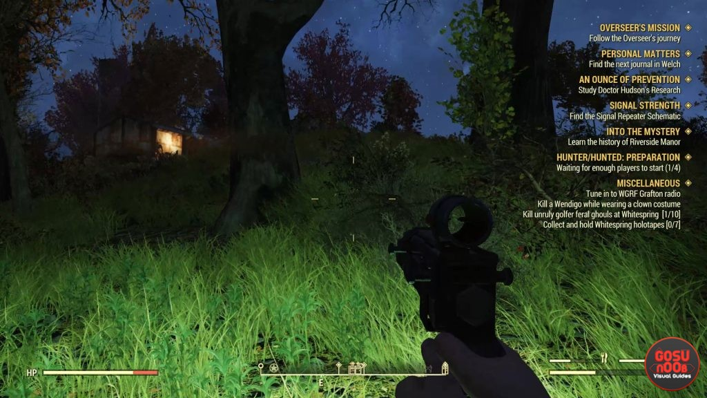 Fallout 76 How to Use Flashlight