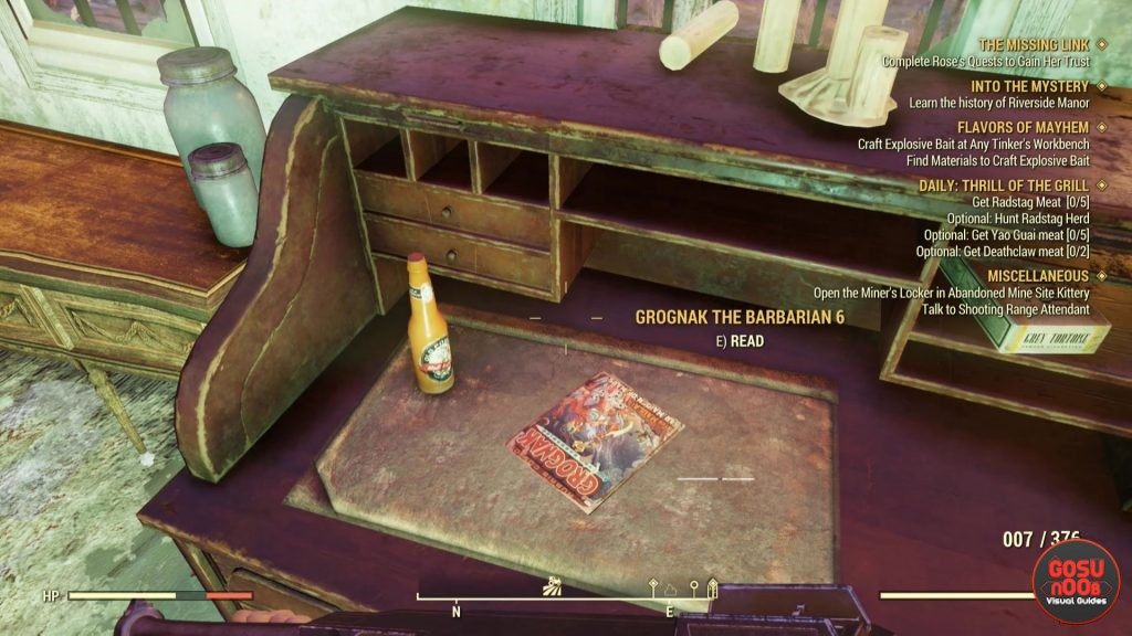 Fallout 76 Perk Magazine Locations