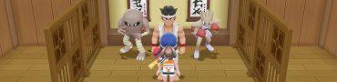 Pokemon Let's Go Pikachu & Eevee Choose Hitmonlee Or Hitmonchan