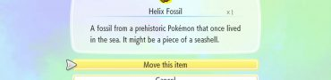 Pokemon Let's Go Pikachu & Eevee Helix Fossil & Dome Fossil
