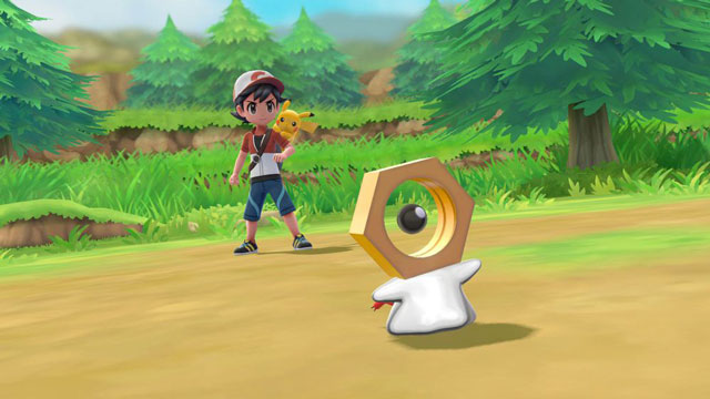 Pokemon Let's Go Pikachu & Eevee How to Get Meltan