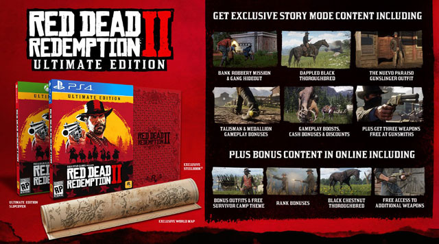 red dead redemption 2 ultimate edition uk price