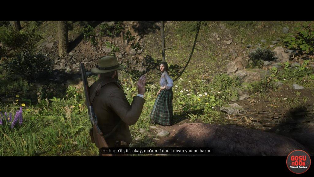 Red Dead Redemption 2 Willard's Rest Homestead Stash Location