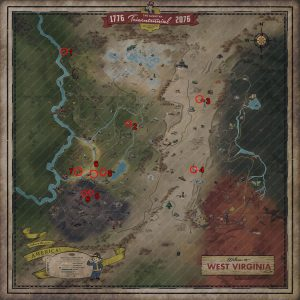 fallout 76 fusion core locations map