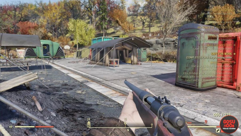 fallout 76 safe for work quest patrol processing center