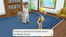 how to chop trees pokemon lets go captain where to find