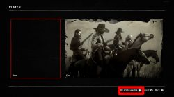 how to create red dead online new character
