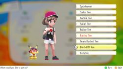 how to get blast off outfit set pokemon lets go pikachu eevee