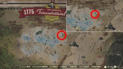 how to solve toxic valley treasure map fo76 space station