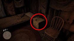 location torn treasure map rdr2 where to find