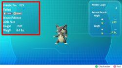 pokemon lets go pikachu eevee rattata alola form