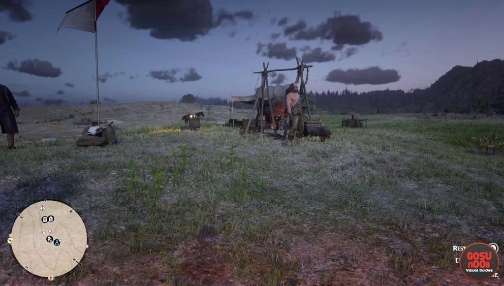 rdr2 online how to move camp