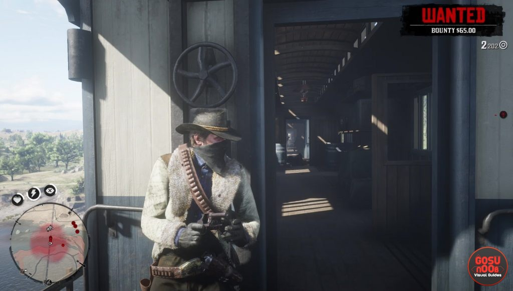 red dead redemption 2 best way to rob train minimum bounty