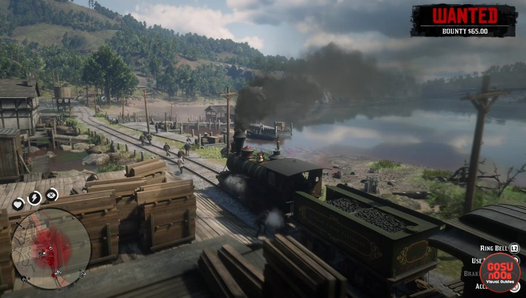 red dead redemption 2 how to steal train driving controls