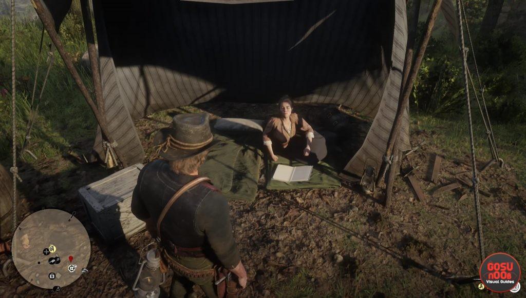 red dead redemption 2 jack sadie abigail location