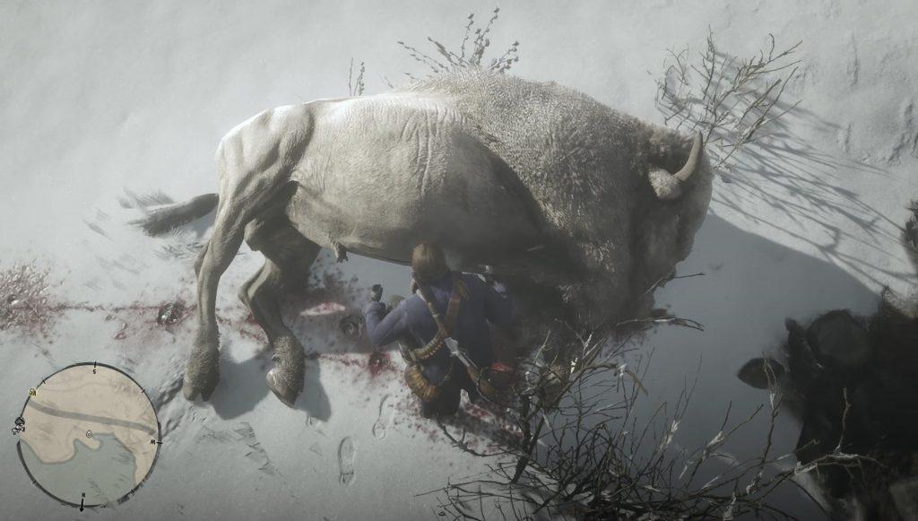 red dead redemption 2 legendary white bison location