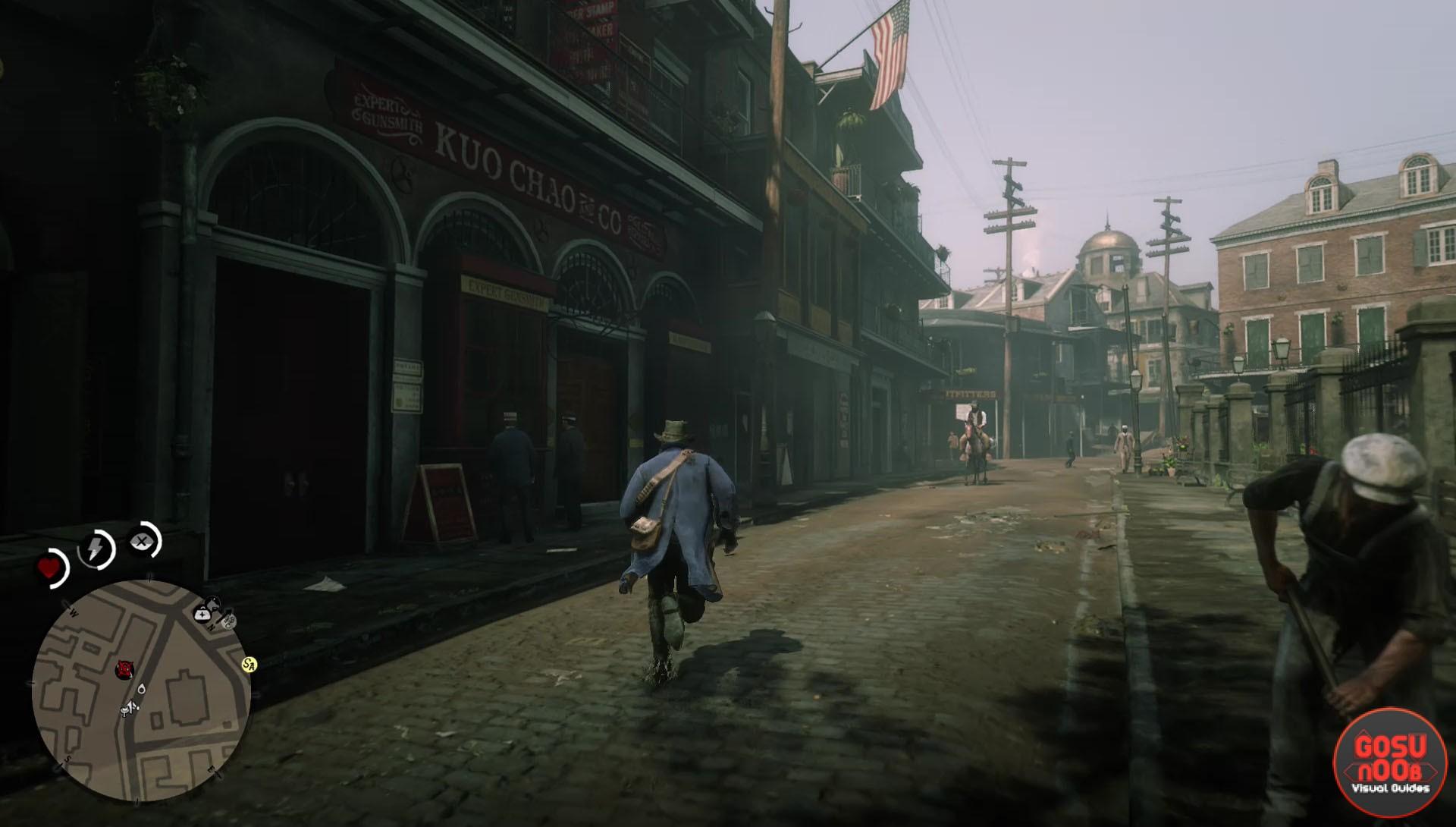 Red Dead Redemption 2 Saint Denis Gunsmith Locked Metal Door