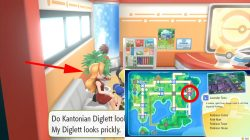 where to find alola diglett trade pokemon lets go
