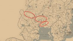 where to find rdr2 northern cardinal locations