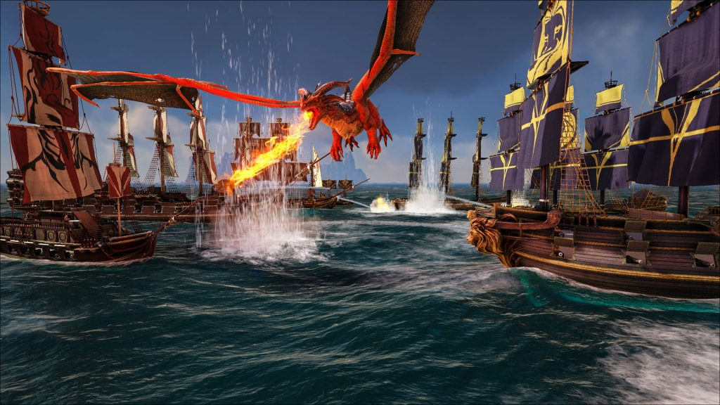 Ark Survival Evolved Creators Reveal New Pirate Survival MMO Atlas
