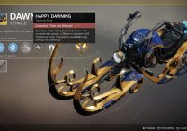 Destiny 2 Dawning Cheer Sparrow Mod Upgrades - How to Unlock