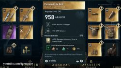 assassins creed odyssey legacy of first blade dlc persian elite legendary waist armor