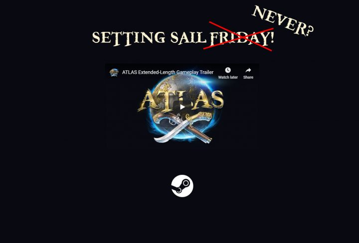 atlas official website launch delay friday