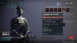 destiny 2 balistic log black armory