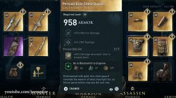 legendary chest armor persian elite set legacy of first blade ac odyssey