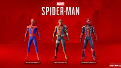 silver lining spider man ps4 dlc suits
