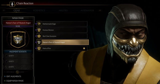 Mortal Kombat 11 Character Customization Will Include Skins, Gear