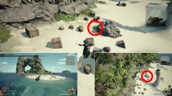 damascus material kh3 the caribbean locations