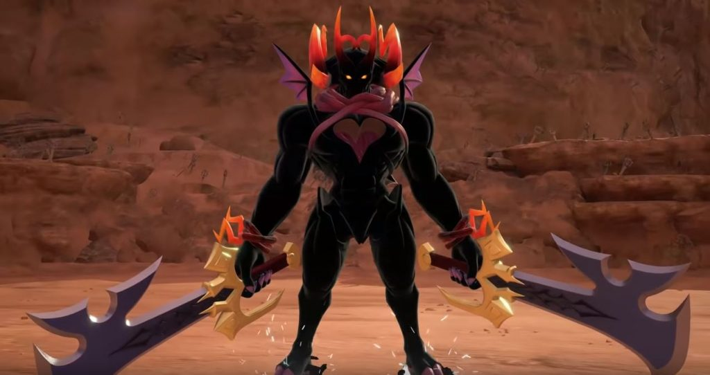 kingdom hearts 3 dark inferno secret boss location rewards