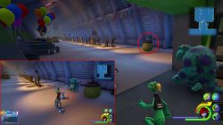 kingdom hearts 3 monsters inc lucky emblem locations