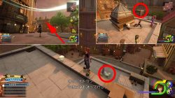 neighborhood lucky emblem location kingdom hearts 3 twilight town mickey heads