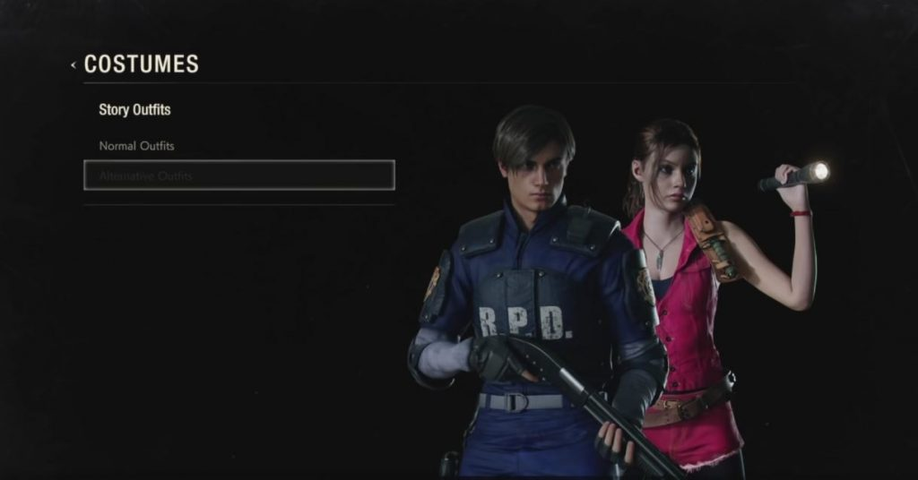 Resident Evil 2 Costumes How To Unlock Alternative Outfits