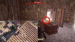 where to find olouros fortress cultist clue location legacy first blade ac odyssey