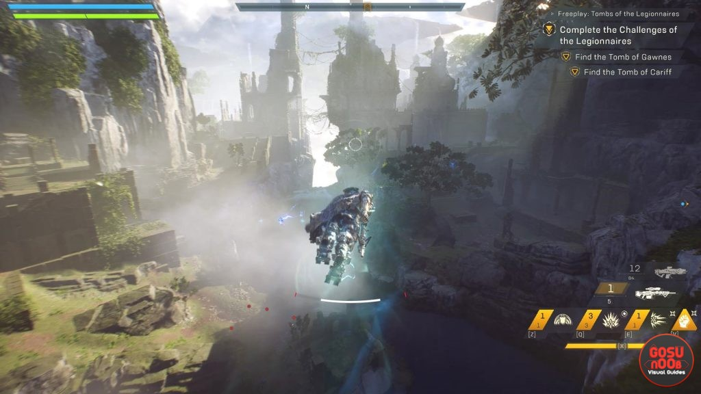 Anthem How to Unlock Strongholds Challenge of Legionnaries Tomb Bug