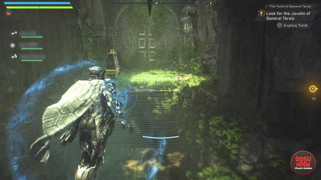 Anthem Tomb of General Tarsis Pedestal Puzzle Solutions