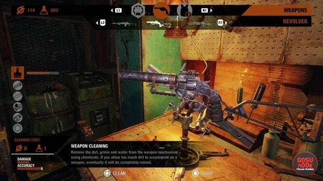 Metro Exodus How to Scrap Weapons & Clean Guns