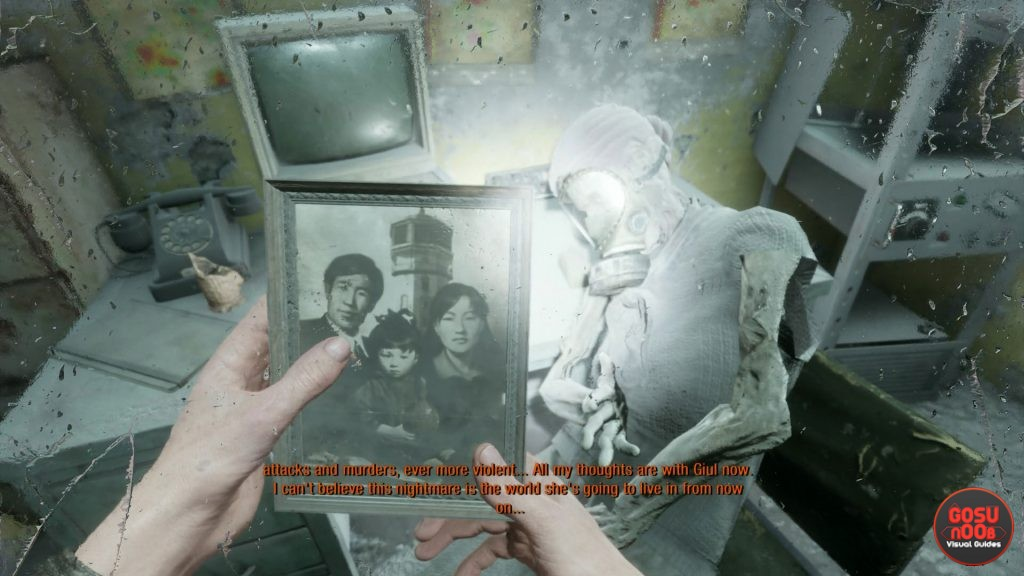 Metro Exodus Where to Find Mom's Picture for Guil - Caspian Chapter