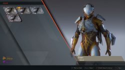 anthem clean javelin suit look