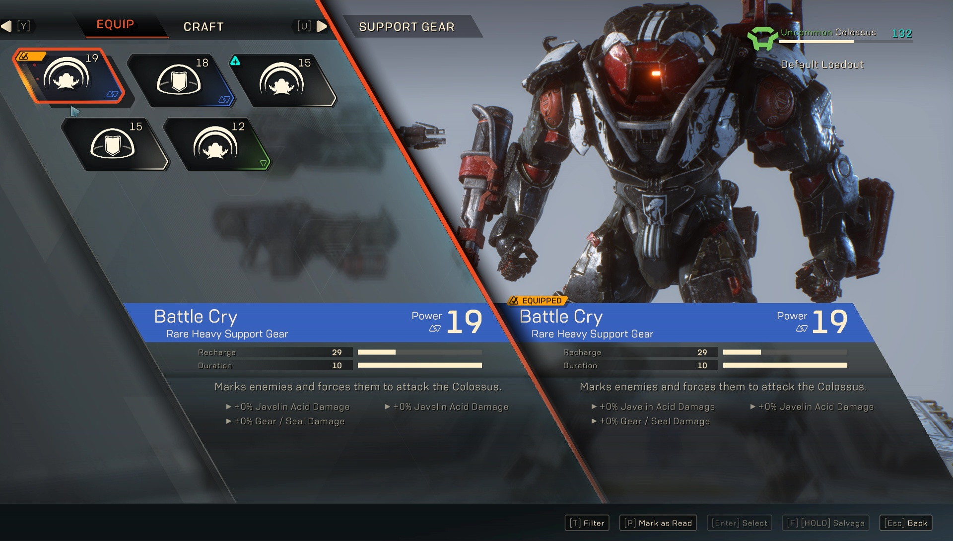 Image result for anthem launch crafting materials